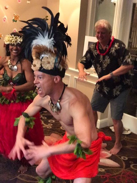 Luau Male Dancer