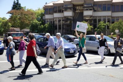 The Heritage Downtown Residents Walking To Lesher Center Downtown Walnut Creek