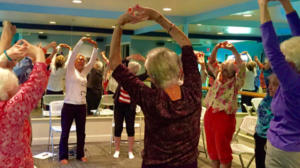 Fitness and Wellness class at The Heritage Downtown