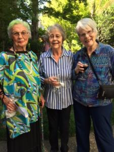 3 lovely ladies and residents from The Heritage Downtown