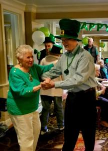 St. Patrick's Day party and dancing at The Heritage Downtown