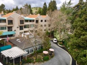 Ariel view of the beautiful Heritage Downtown property in Walnut Creek, California